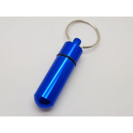 ICE or Medical Alert Info or Pill Holder Key Ring