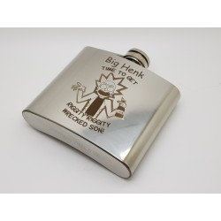 Personalised Hip Flasks 5oz (150ml)
