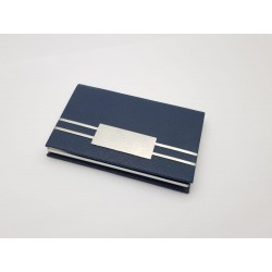 Black Business Card Holder