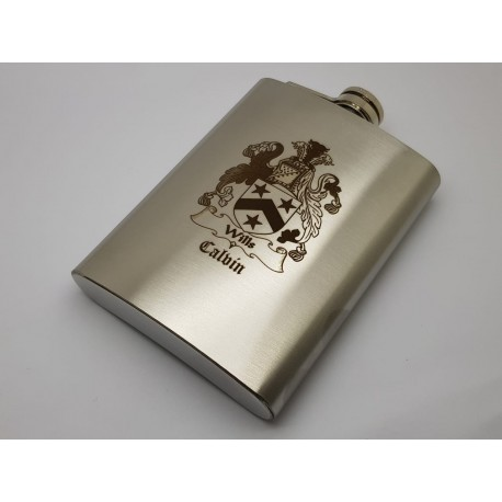 Personalised Hip Flasks 8oz (240ml)