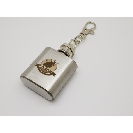 Mini 1oz Key Ring Hip Flask