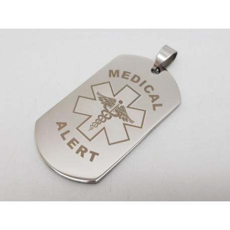 Medical Alert Dog Tags