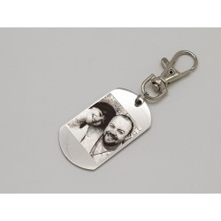 Keyring with Photo Engraving