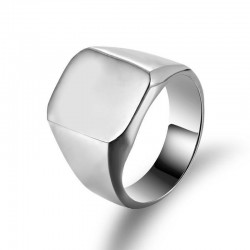 Square Stainless Steel Ring