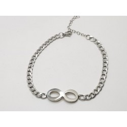 Infinity Curb Ankle Chain