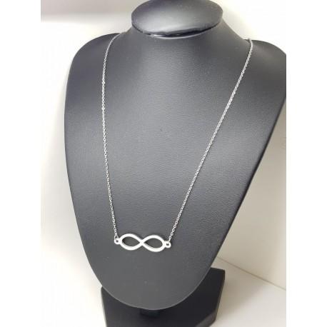 Infinity Pendant & Chain