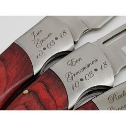 Wedding Pocket knife 2