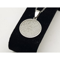 Our Father Prayer Pendant & Chain
