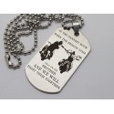 Call on me Brother Engraved Dog Tag 2