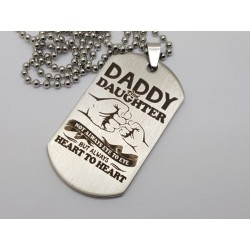 Daddy & Daughter Dog Tag 1