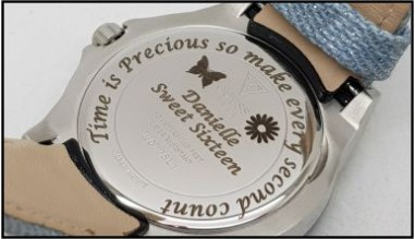 Custom Engraving on Watches
